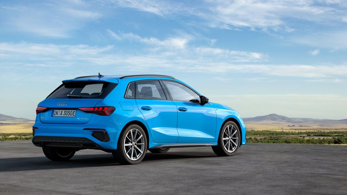 Jusqu'à 78 km à l'électricité : la nouvelle Audi A3 Sportback 40 TFSI e