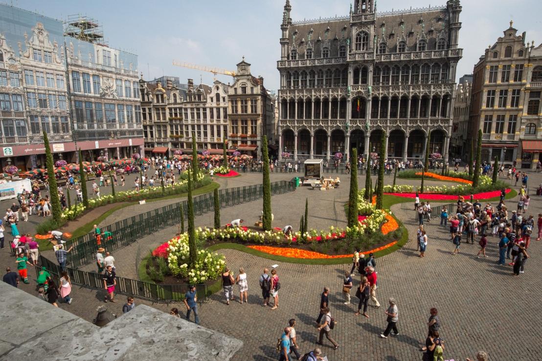 Save the date: 11-15 augustus 2017, bloemen en fruit centraal tijdens Flowertime, een grandioos floraal evenement in het hartje van Brussel