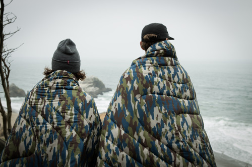 Hide From The Cold With Rumpl's New Camo Print Puffy Blanket