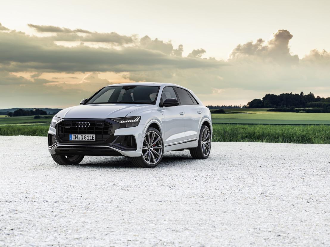 Une variante hybride rechargeable complète la famille Q8 : l'Audi Q8 TFSI e quattro