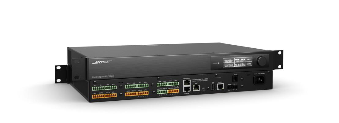 """ControlSpace® EX-1280C de Bose Profesional obtiene la certificación """"Avaya Compliant"""""""