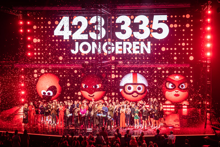 Rode Neuzen Dag 2019 maakt 423.335 jongeren sterker