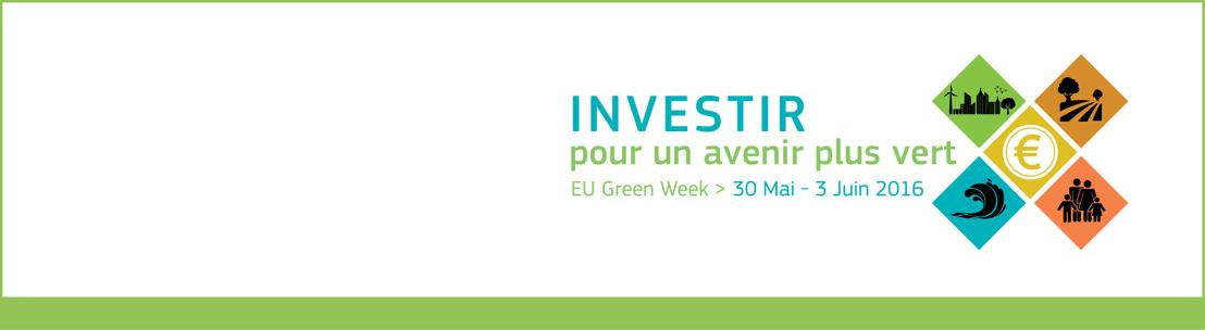Investir dans un avenir plus vert – L'UE lance la Semaine verte 2016