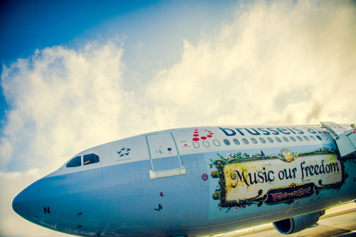 80 Brussels Airlines party flights voor Tomorrowland [Fotoreportage]