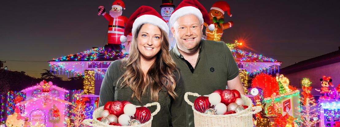 NRJ décore la maison d'un auditeur pour Noël