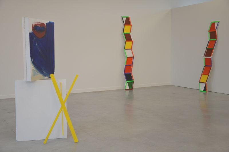 Jessica Warboys. Drift Grid, Box Painting  & Wood, 2014 (c) M - Museum Leuven