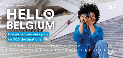 Hello Belgium Railpass: 1,5 million de demandes après une semaine
