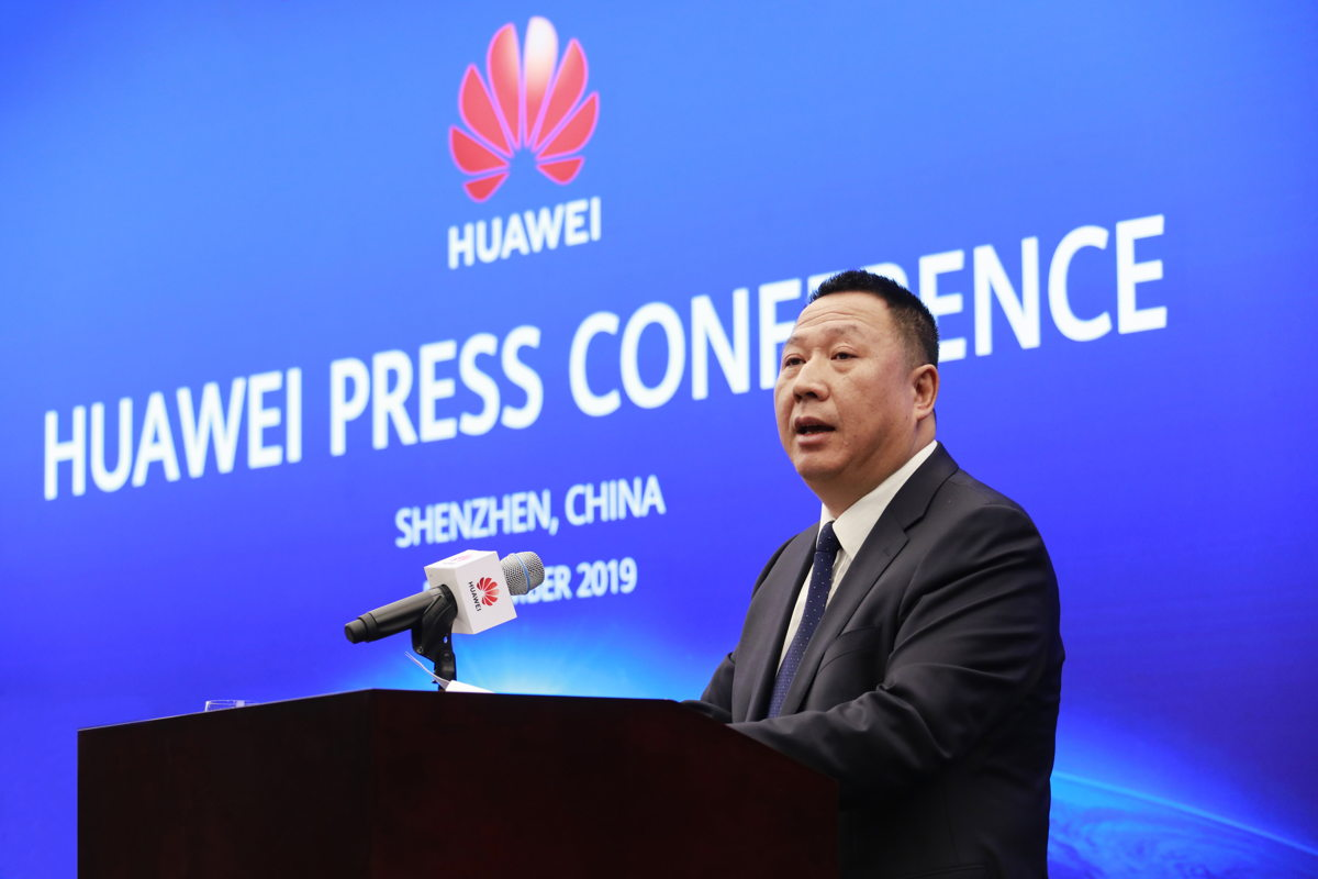 Huawei's Chief Legal Officer Dr. Song Liuping