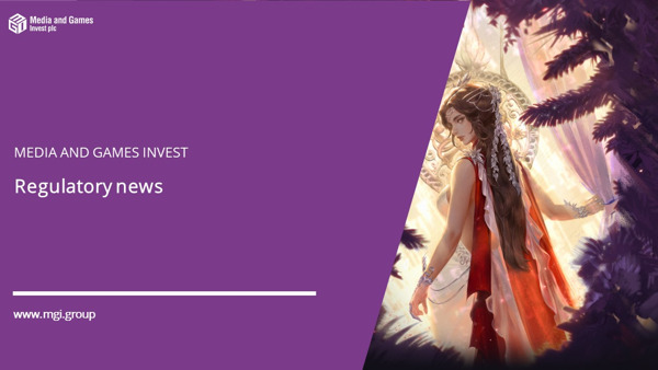 Preview: Media and Games Invest (MGI) with positive half-year figures 2020; Increase of revenue forecast 2020; publication of an EBITDA forecast 2020