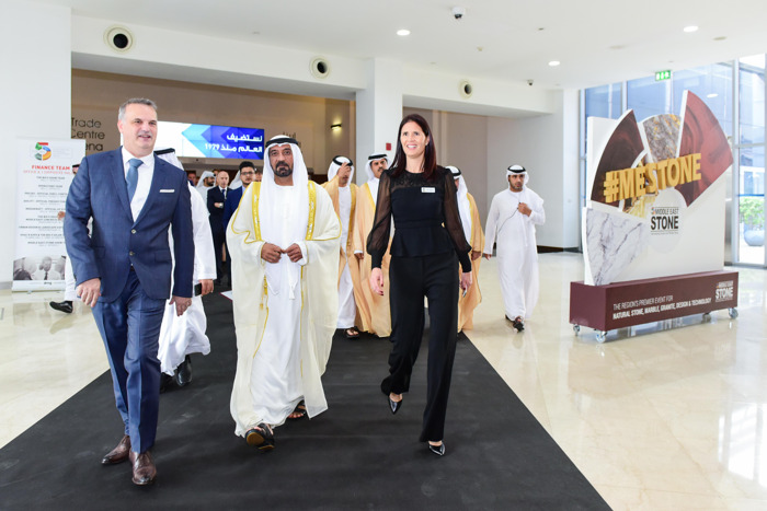 NATURAL STONE AND SUSTAINABILITY TRENDS TAKE CENTER STAGE ON MIDDLE EAST STONE OPENING DAY