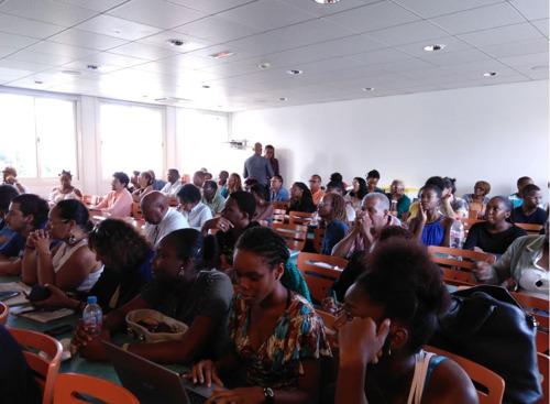 Salle comble pour la journée d'étude sur l'adhésion de la Guadeloupe à l'OECS