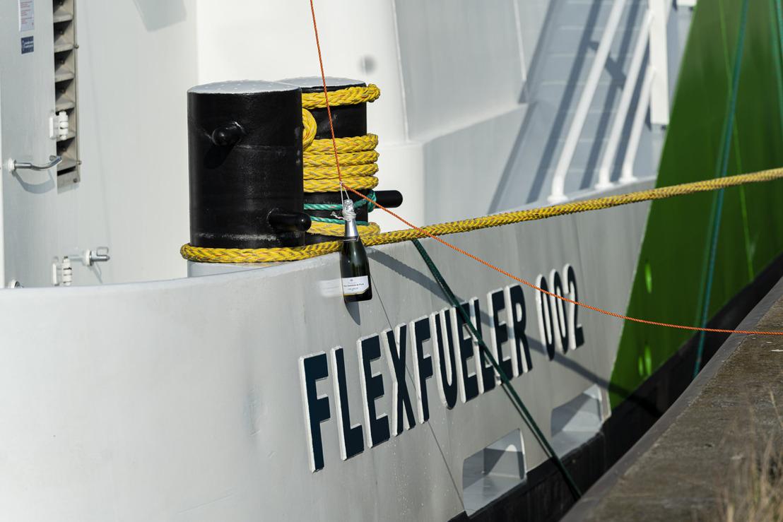 FlexFueler 002 macht LNG-Bunkerung verfügbar im gesamten Port of Antwerp