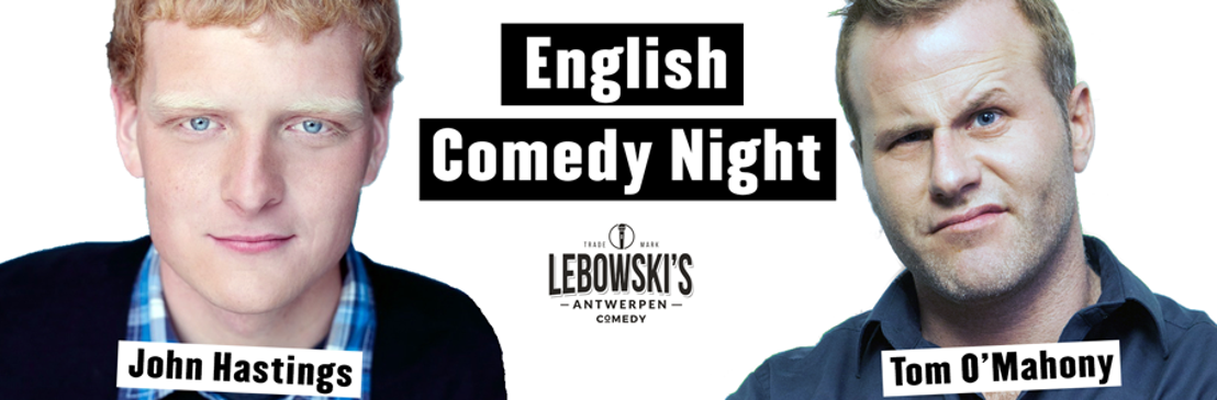 English Comedy Night in Lebowski's Antwerpen