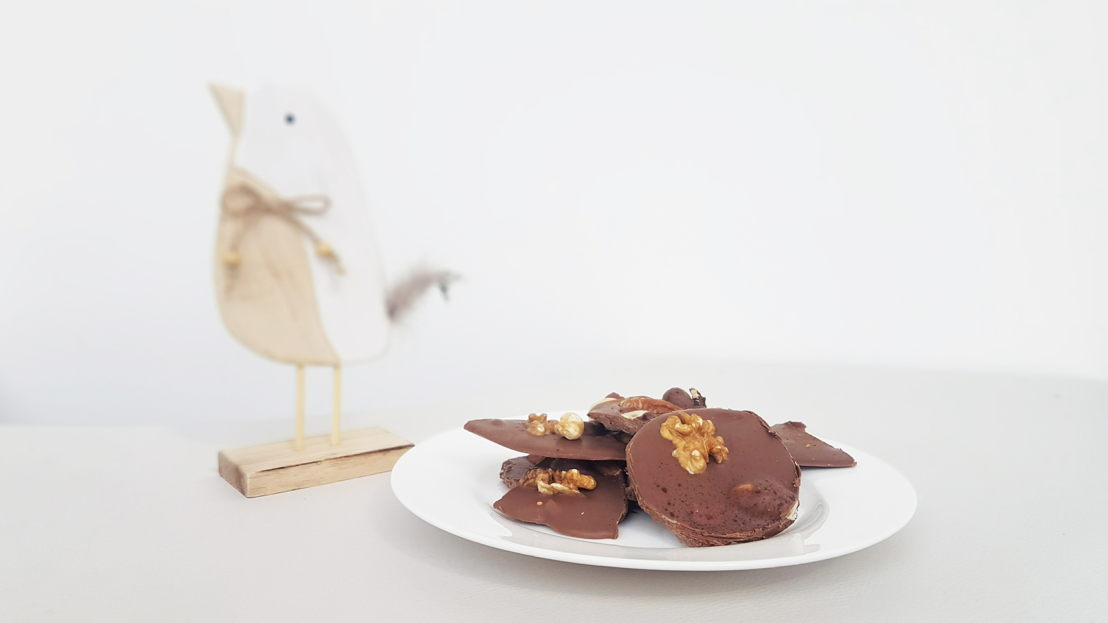 Chocolade met studentenhaver by Miele