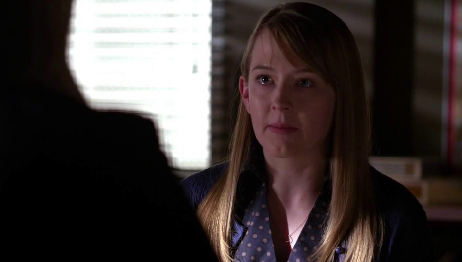 "A scene from Amy's appearance on ""Criminal Minds"""