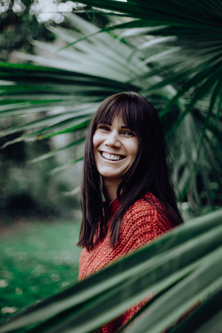 Louisa Dellert präsentiert ihren Fans Life Hacks für mehr Nachhaltigkeit. Copyright: Nina Witte