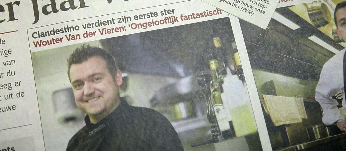 Wouter Van der Vieren krijgt eerste Michelin-ster- (c) Borgerhoff & Lamberigts