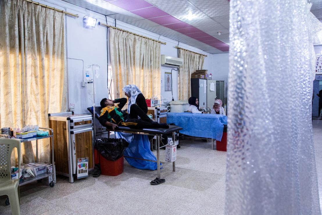 Irak – Des milliers de blessés et de malades, victimes du conflit à Mossoul-Ouest