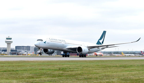 Cathay Pacific launches non-stop flight to London Gatwick on the Airbus A350