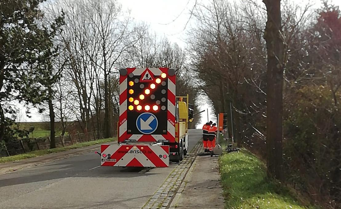 Veilige fietspaden Hoegaardsesteenweg