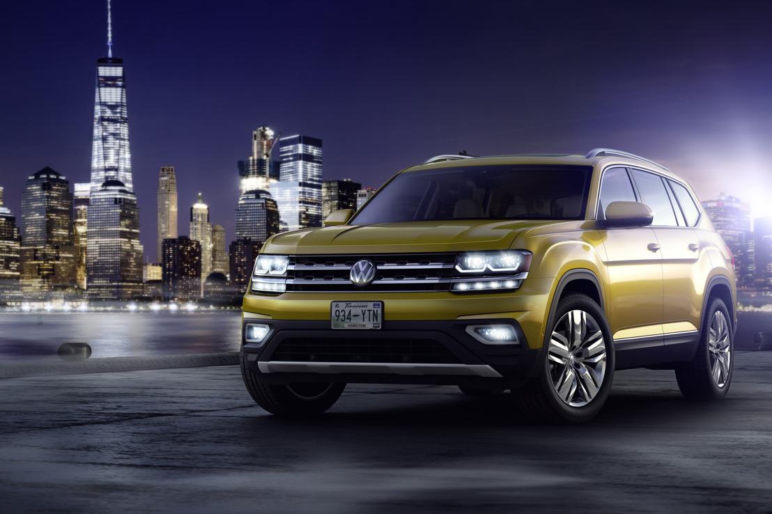 Wereldpremière van de Volkswagen Atlas – nieuwe zevenzits SUV voor Amerika (update)
