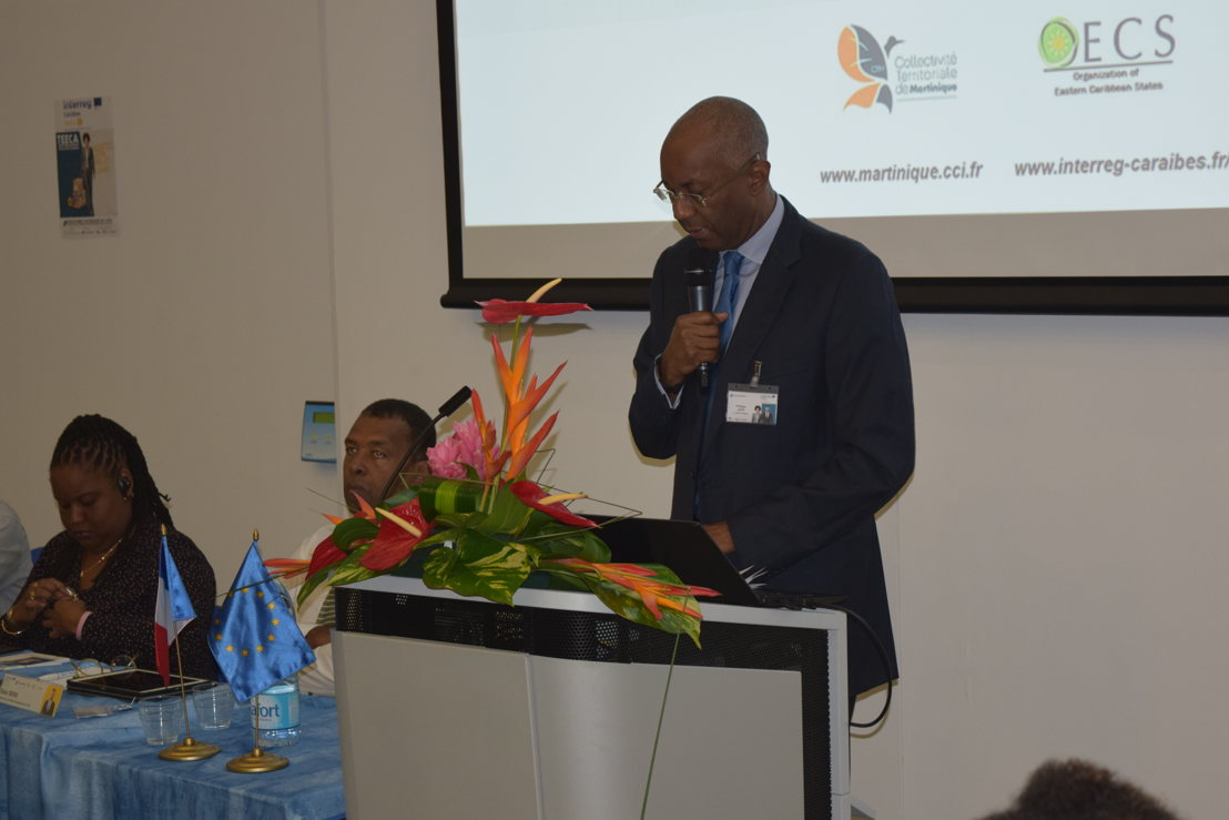 President of the Chamber of Commerce of Martinique, Philippe Jock