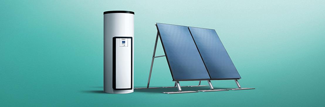 Vaillant renouvèle sa gamme de systèmes à l'énergie solaire