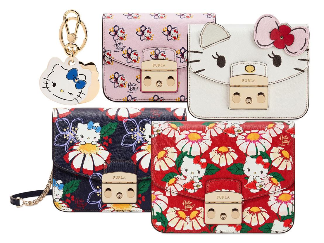Furla lanza una colaboración con Hello Kitty de edición limitada