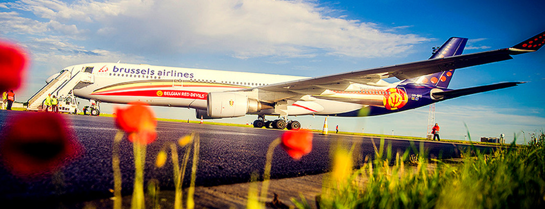 Brussels Airlines vliegt Rode Duivels naar Brazilië