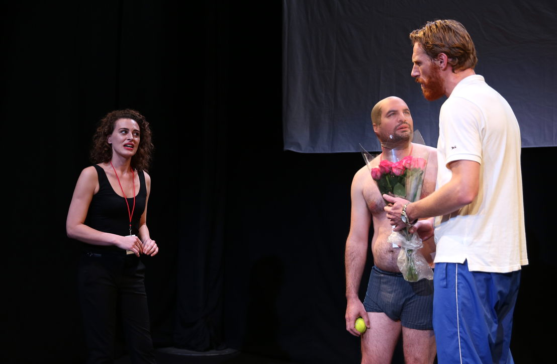 The Game Ohne Dich with Mikki-Dene Le Roux, Brendan Murray and Milton Schorr - credit Nardus Engelbrecht Cape Town Fringe 2016