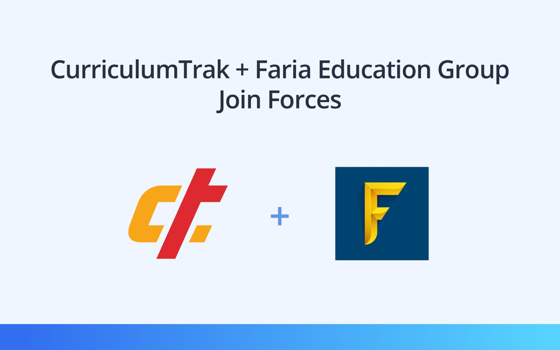 Curriculum Trak and Faria Education Group Join Forces to Better Serve Faith-Based Schools