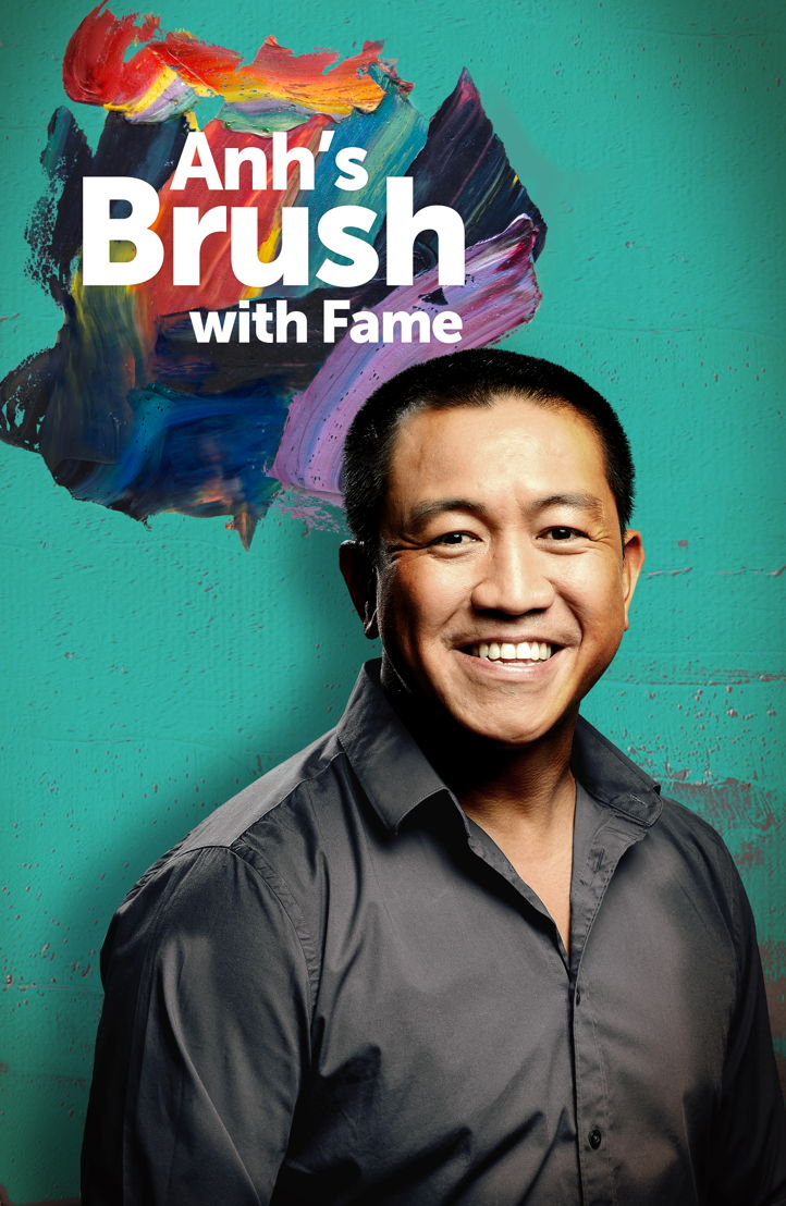 Anh's Brush with Fame series 2 starts on 12 April at 8pm on ABC