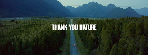 Volvo en FamousGrey bedanken de natuur