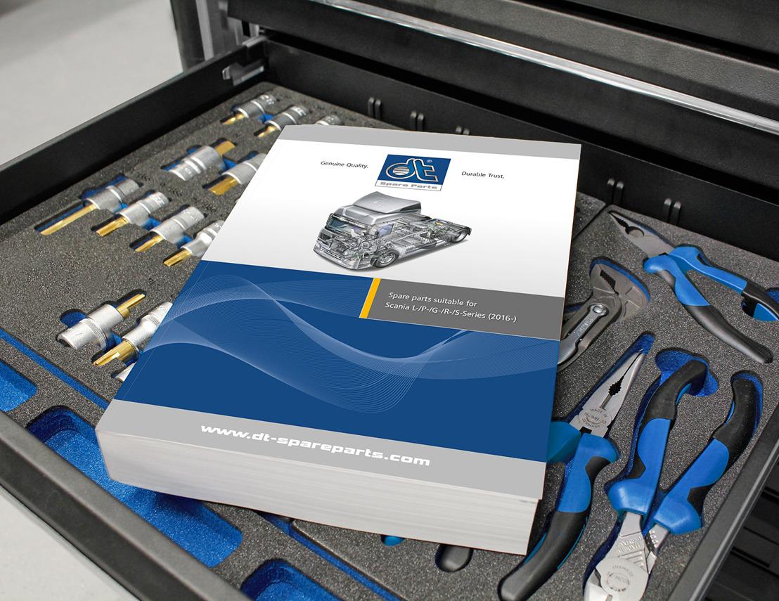 DT Spare Parts publie un catalogue de pièces détachées adaptables pour Scania L/P/G/R/S