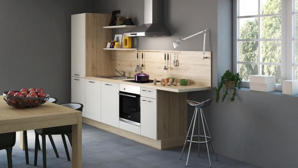 Start de kleine keuken die alles van een grote heeft