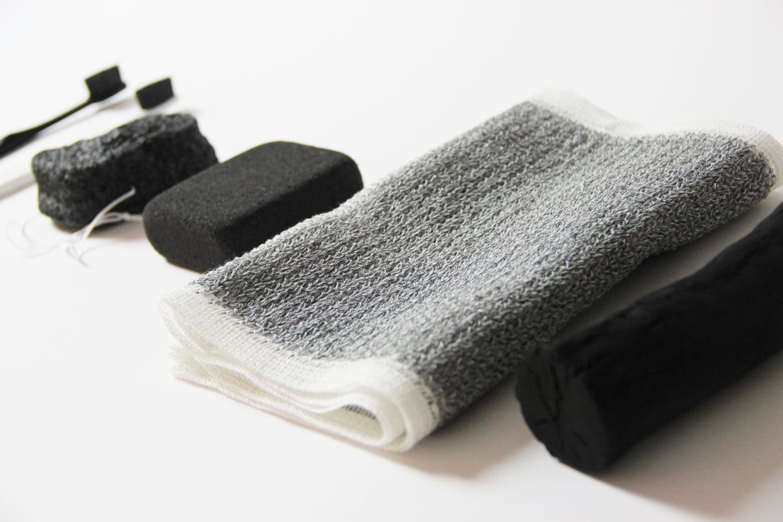 Kenkawai peeling towel 21,5 euro at Graanmarkt 13