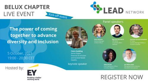 Des entreprises du retail et des biens de consommation, des grossistes et des fournisseurs de services, lancent le LEAD Network BELUX Chapter et se rassemblent pour promouvoir la diversité