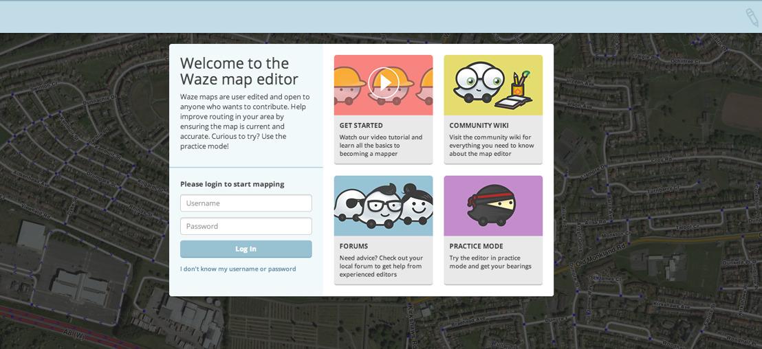 Únete a la comunidad más grande de conductores y colabora como Editor de Mapas de Waze