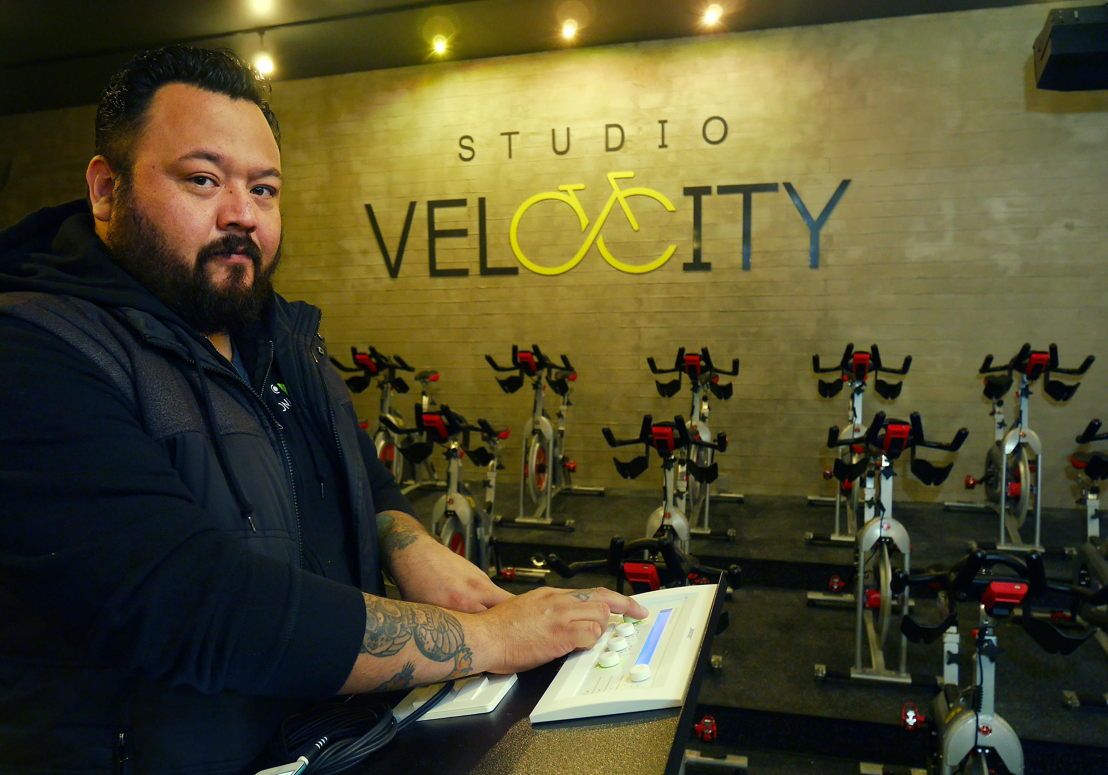 Iván Romero de Ponle Audio, integrador de Bose Profesional a cargo del proyecto de Studio Velocity