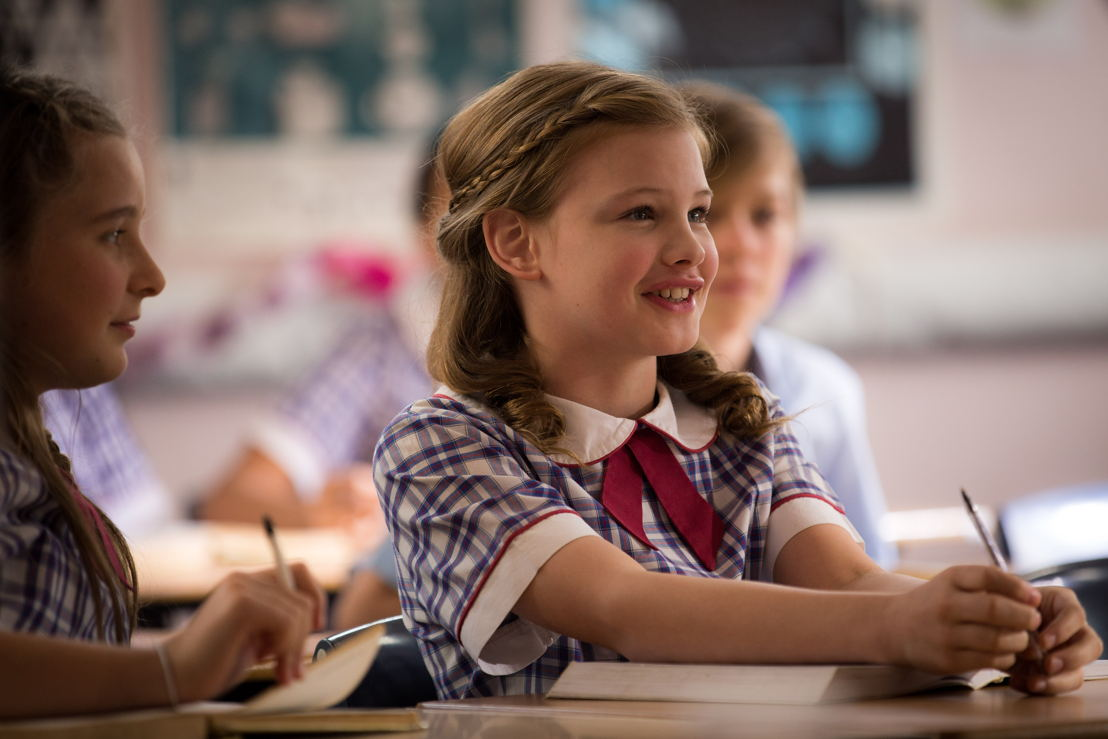 """Hannah (Evie Macdonald) in """"First Day""""."""