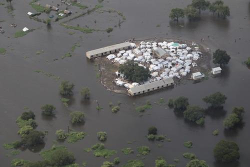 800.000 personas sufren los efectos de las graves inundaciones en Sudán del Sur