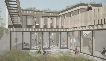 Kinderdagverblijf Elmer - nieuwbouw plan