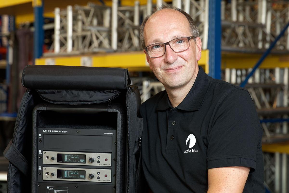 Geschäftsführer Andreas Beer von active blue