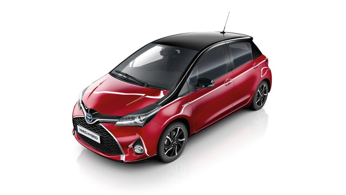 UPDATE Toyota Yaris: nieuw rood, nieuwe prijzen