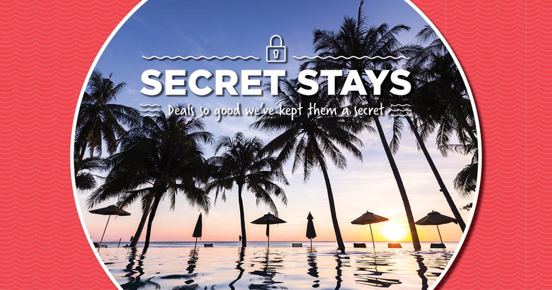 Unlock a world of 'Secret Stays' with dnata Travel