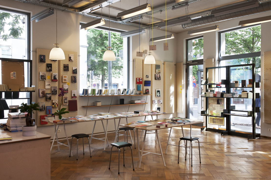 Rotor Deconstruction, Librebook Bookshop (Foto Rotor) - Henry van de Velde Company Award 16 / Henry van de Velde OVAM Ecodesign PRO Award 16