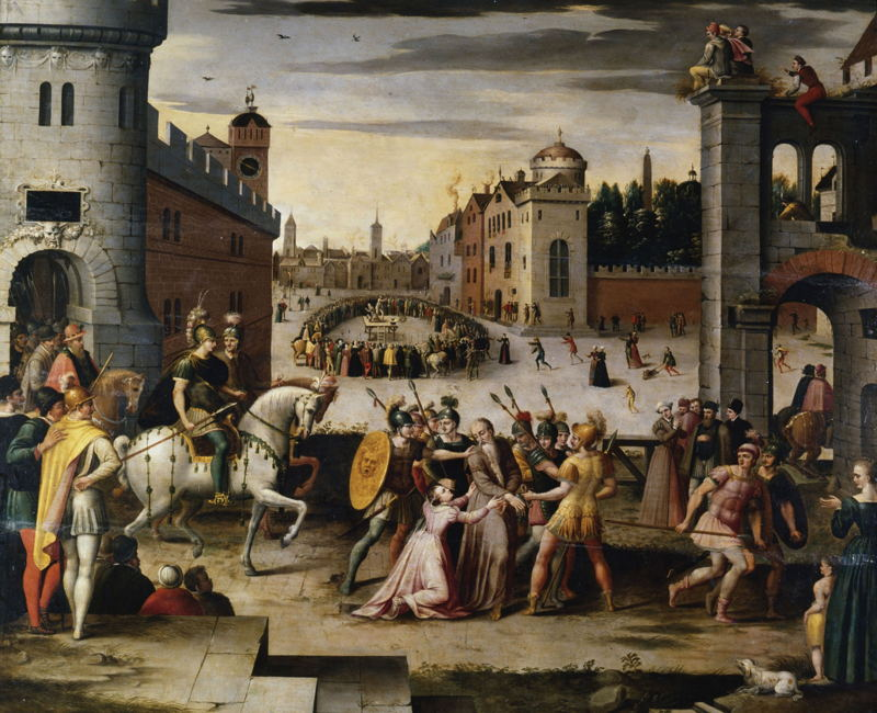 Utopia & More © Antoine Caron, The execution of Thomas More. Chateau royal de Blois, n° 29.5.9. Chateau Royal de Blois/Picture F. Lauginie