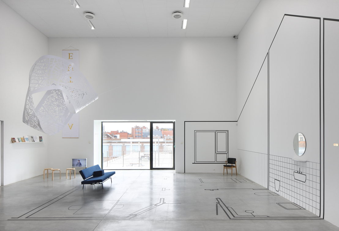 Installation view &#039;EUtopia&#039; at M-Museum Leuven<br/>Photo: Filip Dujardin