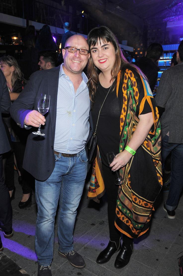 Mark Rausch y Liliana López