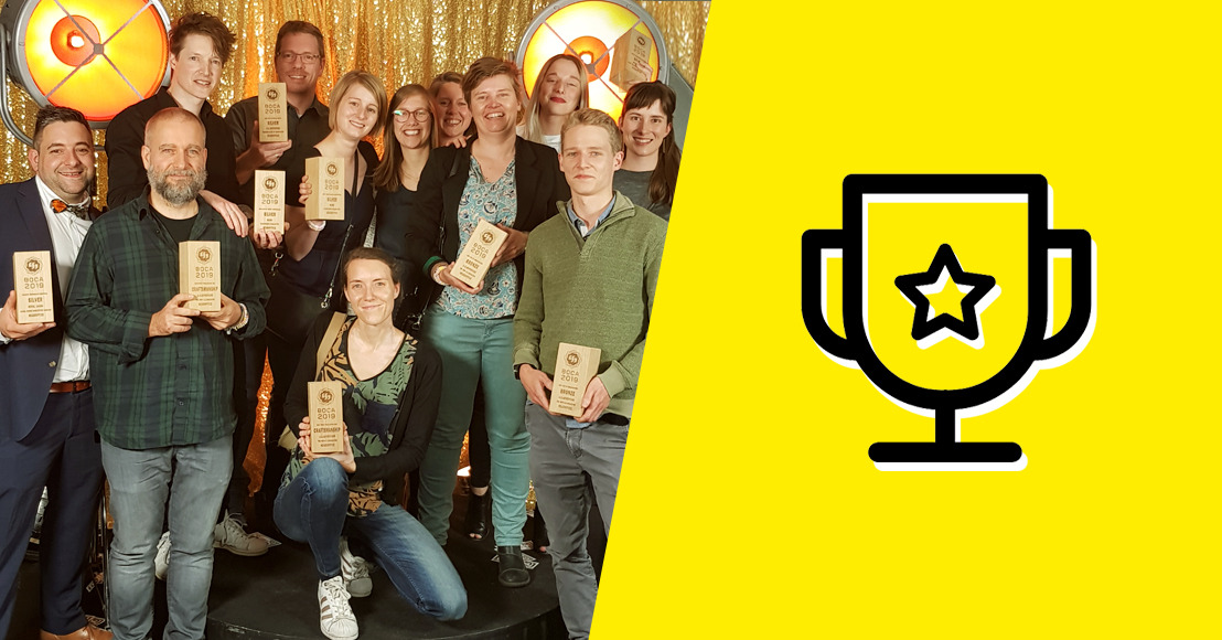 HeadOffice strikes again: 5 BOCA-trophies at Best of Content Awards